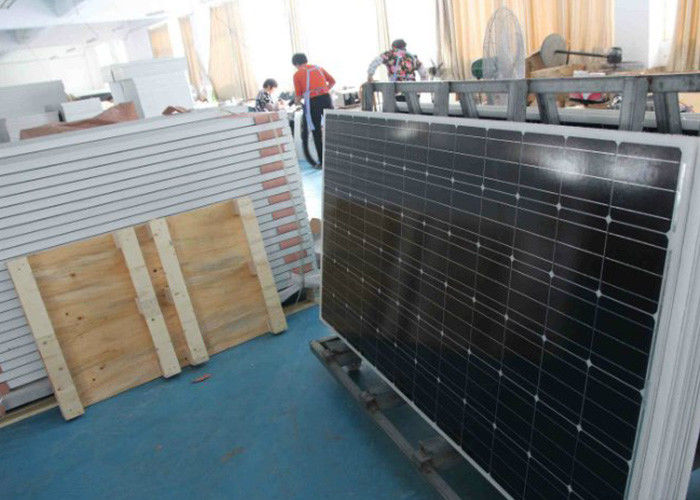 High Transmission Black Solar Energy Panels 3.2 Millimeter Front Glass