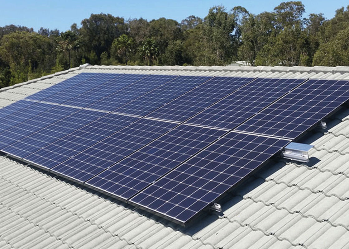 Stable Multicrystalline Silicon Solar Panels 900 Mm Length Flame Resistant