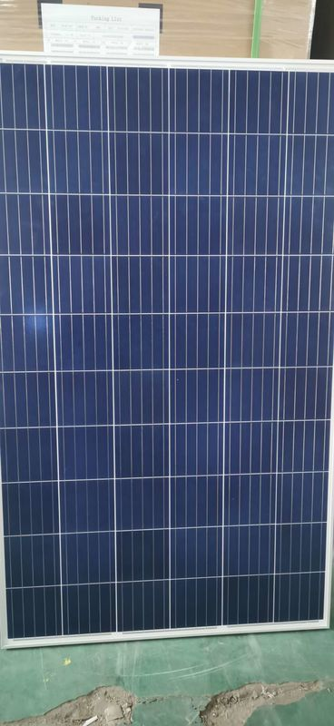 Custom Logo Solar Cell Panel 275W Tempered Glass With Aluminium Frame