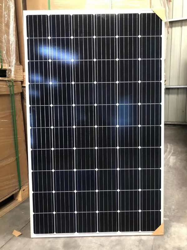 Epoxy Resin Mono Solar Panels For Solar Panel System Self Cleaning Surface